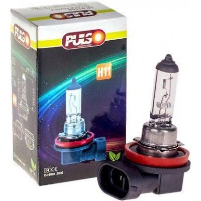 Лампа галогеновая PULSO H11/PGJ19-2 (12v55w) clear