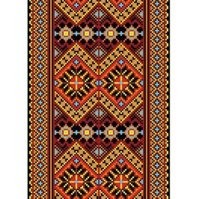 Наклейка вышиванки Наклейка Автоорнамент 20Б-011