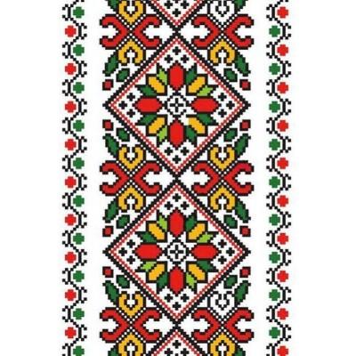 Наклейка вышиванки Наклейка Автоорнамент 20П-019