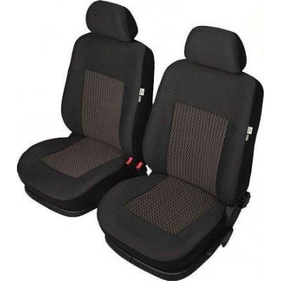 Универсальные чехлы для передних сидений Kegel-Blazusiak Perun Super Air Bag Lux front XL (чёрные)