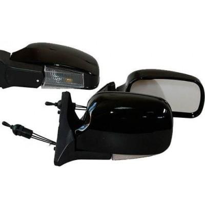 Зеркала боковые модельные Vitol 3107П LADA 04, 05, 07 (черный)
