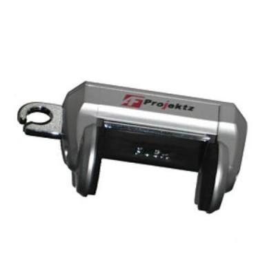 Держатель для телефона Vitol J 4052/А27536 (серебристая) в воздухозаборник (серый)