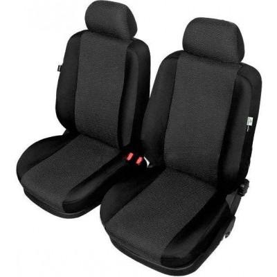 Универсальные чехлы для передних сидений Kegel-Blazusiak Ares  Super Air Bag Lux front XL (чёрные)