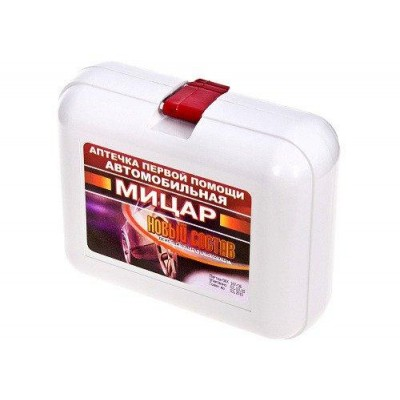"Аптечка автомобильная Vitol ""Мицар"" (твердая упаковка) пластик"