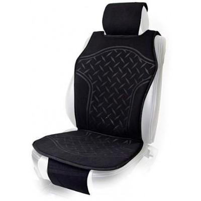 Накидка на сидение для легкового автомобиля Vitol FD102070 (черная)
