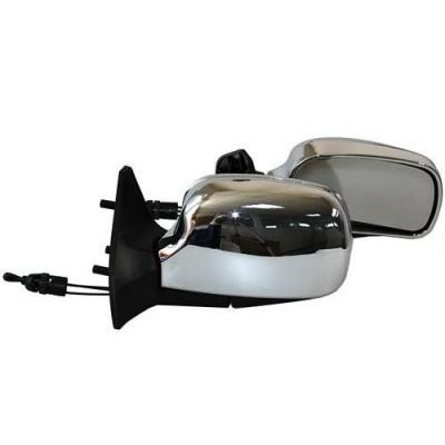 Зеркала боковые модельные Vitol 3109 LADA Samara 08, 09, 13-15 (хром)