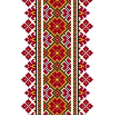 Наклейка вышиванки Наклейка Автоорнамент 30П-013