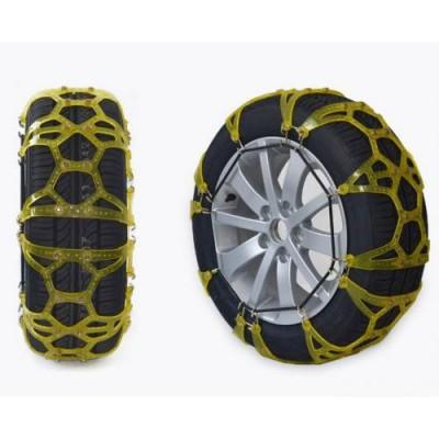 Цепи противоскольжения на колеса Vitol TPU XLT-3 силиконовые (желтые)