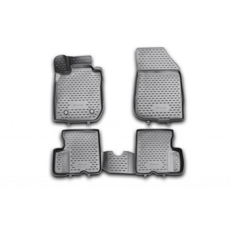 Автомобильные коврики Novline EXP.NLC.3D.41.29.210kh черные (4 шт.)