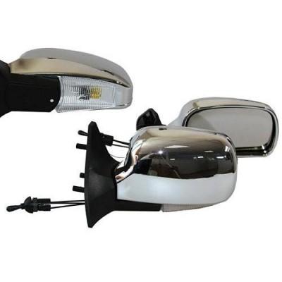 Зеркала боковые модельные Vitol ЗБ 3107П LADA (хром)
