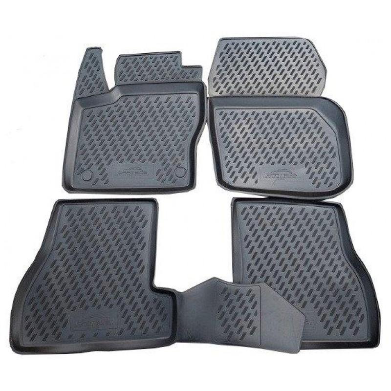 Автомобильные коврики Novline CARFRD00001h чёрные (4 шт.)