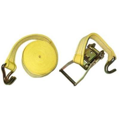 Стяжной ремень Vitol ST-212D-8 YL (8 м) желтый
