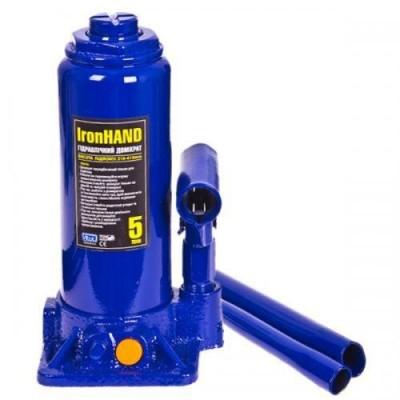 Домкрат гидравлический Vitol T90504 бутылочный, 5т
