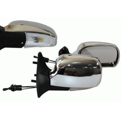 Зеркала боковые модельные Vitol 3109П LADA Samara 08, 09, 13-15 (черные)