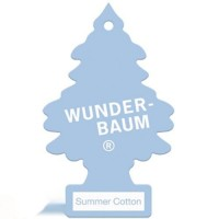 WUNDER-BAUM  Ароматизатор   Little Trees Summer Cotton (24)